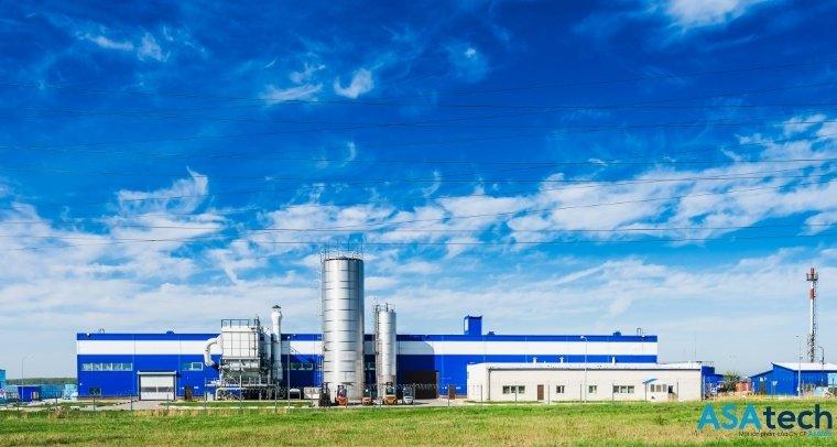Nhà máy xí nghiệp xử lí nước thải