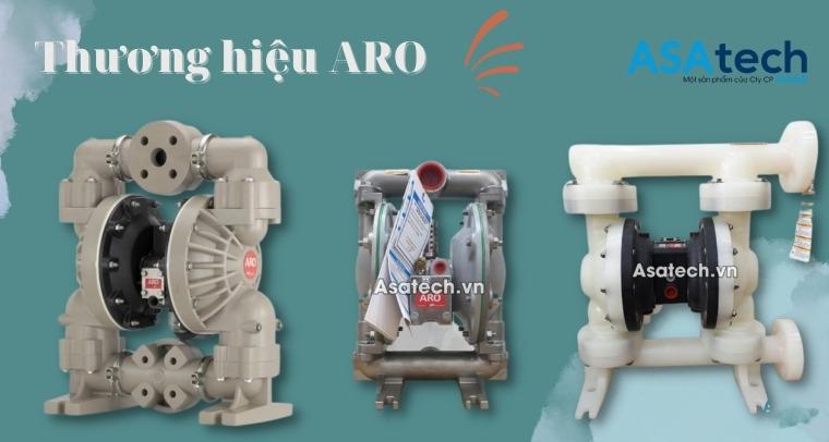 Thương hiệu máy bơm màng khí nén ARO