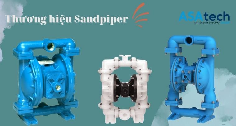 Thương hiệu máy bơm màng khí nén Sandpiper