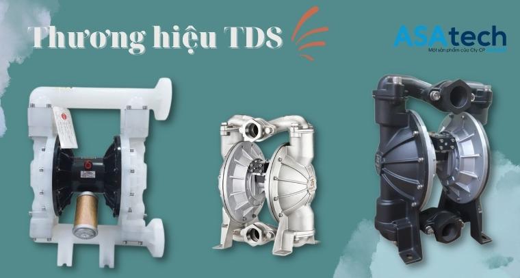 Thương hiệu máy bơm màng khí nén TDS