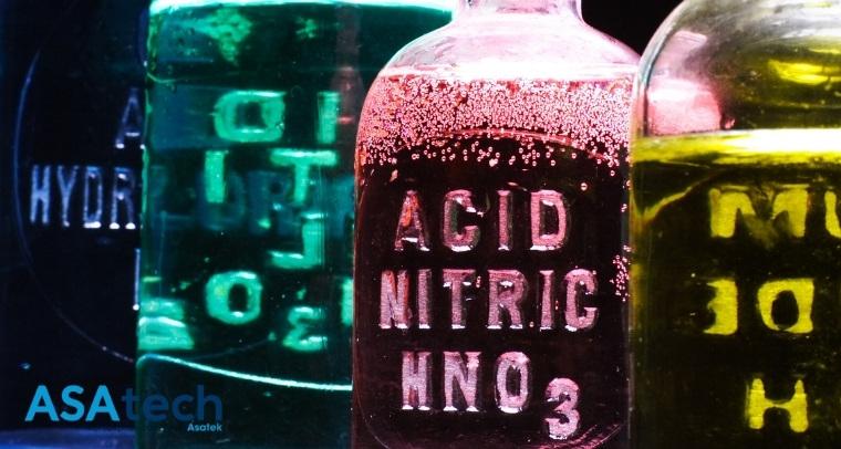 Các loại hóa chất axit phổ biến